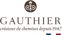 Chemises Gauthier : créateur de chemises Made in France